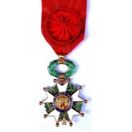 Médaille d'Officier de la Légion d'Honneur (Recto)