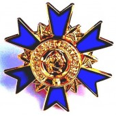Pin's d'Officier de l'Ordre national du Mérite